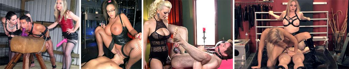Sclavul da limbi in pizda Stapanei Domnia BDSM e penetrat in cur si face muie la straponul ei