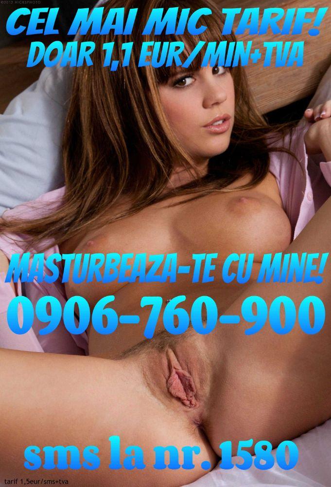 Linia fierbinte cu fetele cele mai tari, la pretul cel mai mic pentru sex la telefon si sex-chat SMS! Tel. 0906-760-900